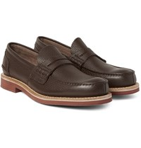 Church's Full Grain Leather Penny Loafers Brown