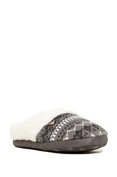 Roxy Sleigh Love Iii Faux Fur Lined Slipper Black