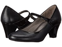 Lifestride Gigi Black Smooth Patent Women's Shoes
