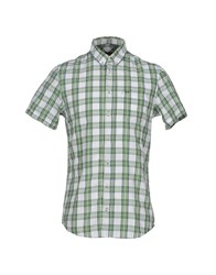 Sun 68 Shirts Shirts Men Green