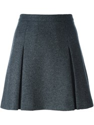 Red Valentino Short A Line Skirt Grey