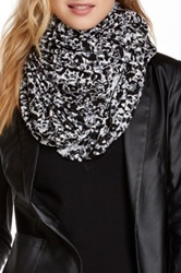 Loveappella Leopard Print Infinity Scarf Multi