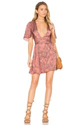 House Of Harlow X Revolve Harper Wrap Dress Pink