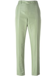 Red Valentino Tailored Cropped Trousers Green