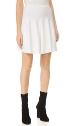 Carven Flared Skirt Blanc Optique