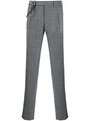 Berwich Check Print Tailored Trousers 60
