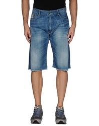 Franklin And Marshall Denim Denim Bermudas Men Blue