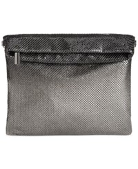 Inc International Concepts Ombre Mesh Foldover Clutch Only At Macy's Black