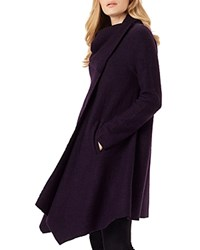 Phase Eight Bellona Duster Cardigan Blackcurrant