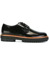 Tod's Chunky Sole Derbies Black