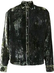Y Project Velvet Shirt Green