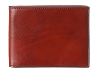 Bosca Old Leather Classic 8 Pocket Deluxe Executive Wallet Cognac Wallet Handbags Tan