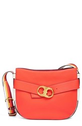 Tory Burch Gemini Belted Small Leather Crossbody