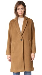 Madewell Monsieur Coat Burnished Cedar