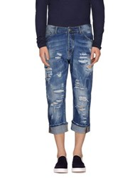 Yes London Denim Denim Trousers Men