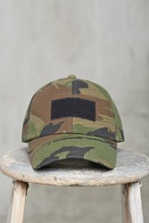 Forever 21 Men Camo Print Cap Olive Brown