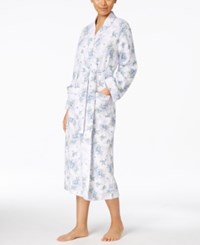 Charter Club Floral Print Robe Only At Macy's