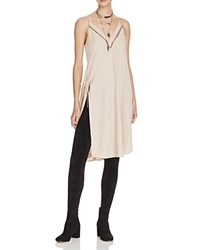 Free People Sensual Military Slip Dress Cream