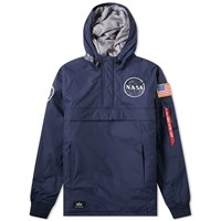 Alpha Industries Nasa Anorak Blue