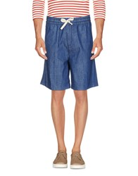 Haikure Denim Bermudas Blue