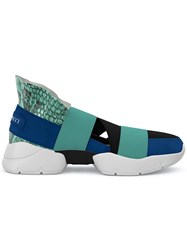 Emilio Pucci City Up Slip On Sneakers Green