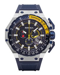 Gran Turismo Chronograph Watch Navy Brera