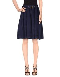 Burberry Brit Skirts Knee Length Skirts Women Blue
