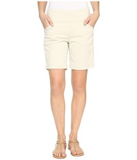 Jag Jeans Ainsley Pull On 8 Shorts In Bay Twill Stone Women's Shorts White