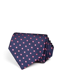 The Men's Store At Bloomingdale's Small Florette Classic Tie Navy