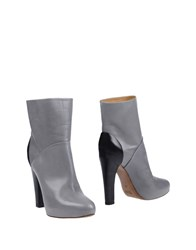 Liviana Conti Ankle Boots Grey