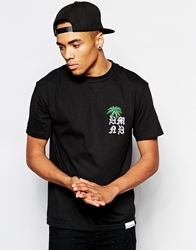 Diamond Supply Co. Diamond Supply Palm T Shirt Black