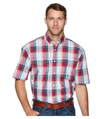 Roper 1679 Independence Plaid Red Clothing