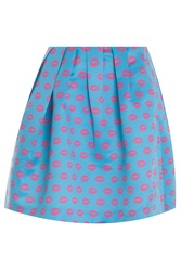 Markus Lupfer Smacker Lip Kat Mini Skirt