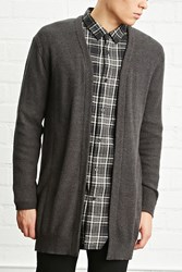 Forever 21 Open Front Longline Cardigan