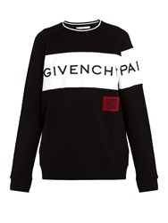 Givenchy Oversized Logo Sweatshirt Black