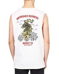 Insight Unfinished Business Tee Dusted White