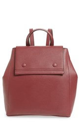 Danielle Nicole Nolan Faux Leather Backpack Burgundy Wine