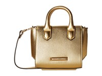 Kendall Kylie Brook Nano Mini Satchel Gold Satchel Handbags