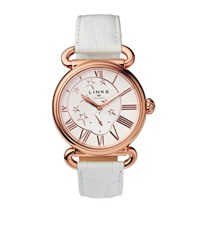 Links Of London Driver British Watch Female White