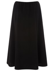 Eastex Petite Pull On Ponte Skirt Black