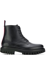 Tommy Hilfiger Chunky Lace Up Boots Black