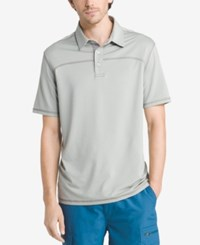 G.H. Bass And Co. Men's Performance Polo Neutral Grey Heather