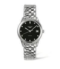 Longines Flagship Automatic Diamond Watch Unisex Black