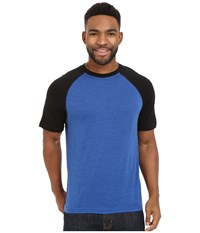Smartwool Nts Micro 150 Combo Tee Bright Blue Men's T Shirt