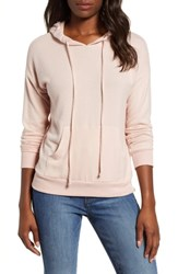 Gibson Cozy Hoodie Pink Smoke Solid