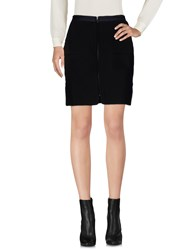 Dress Gallery Mini Skirts Black