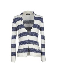 Fdn Knitwear Cardigans Men Blue