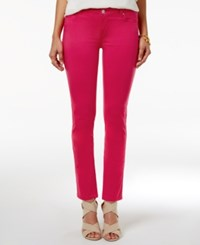 Celebrity Pink Juniors' Jayden Colored Wash Skinny Jeans Beetroot Purple