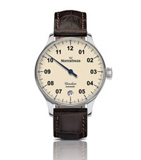 Meistersinger Circularis Automatic Watch Unisex Ivory
