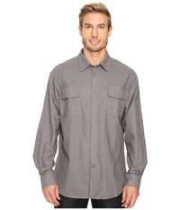 Mountain Khakis Ranger Chamois Shirt Castlerock Men's Clothing Gray